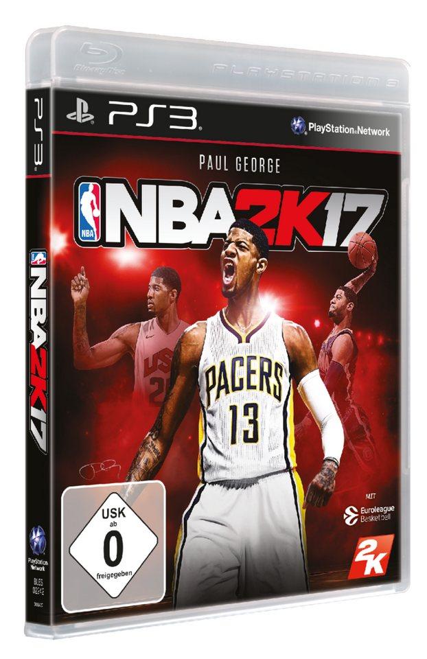 Take 2 NBA 2K17 DayOne Edition »PS3«