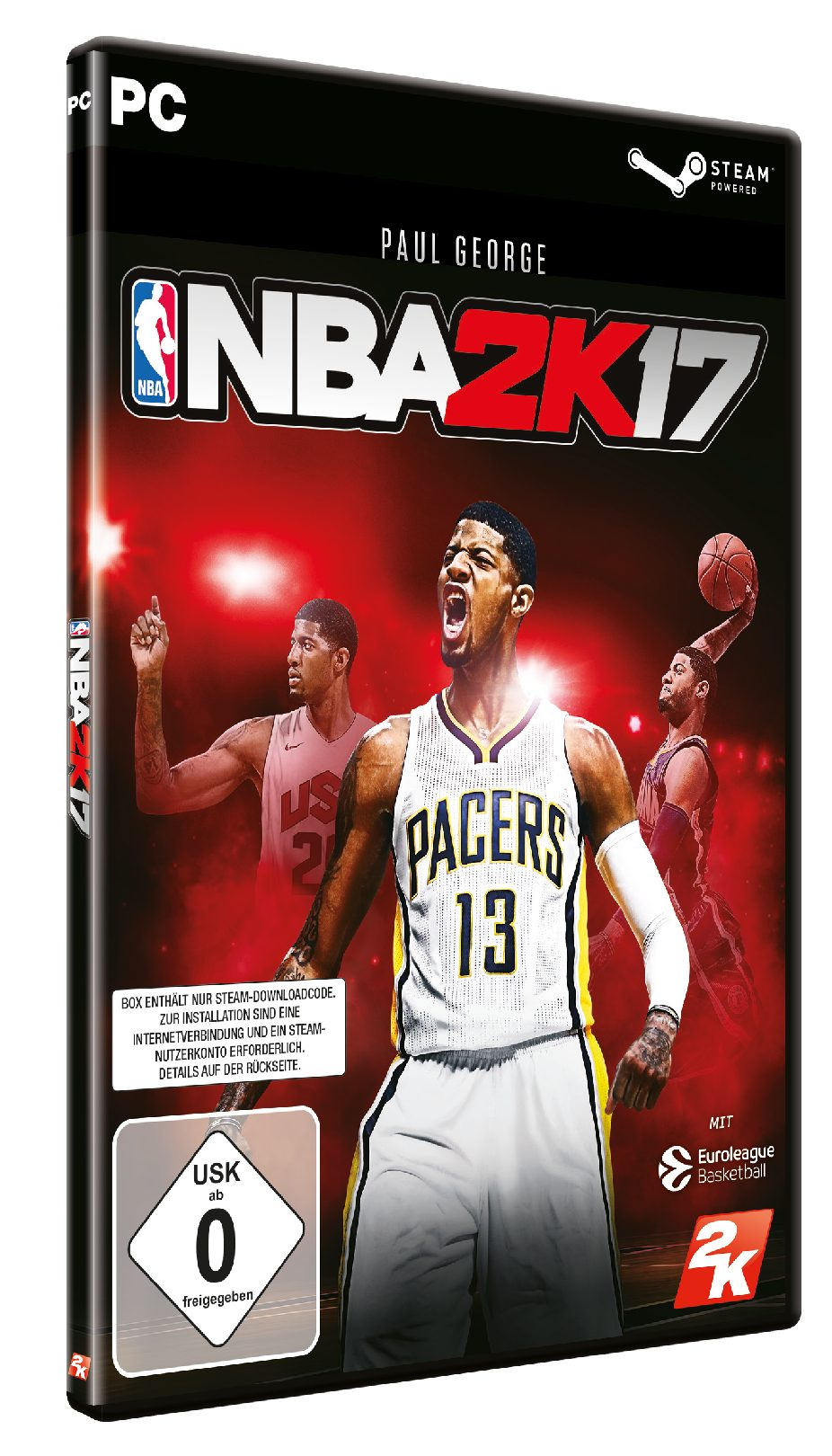 Take 2 NBA 2K17 DayOne Edition (DLC only) »PC«
