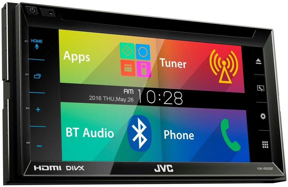 JVC Multimedia-Receiver »KW-V620BTE« in schwarz