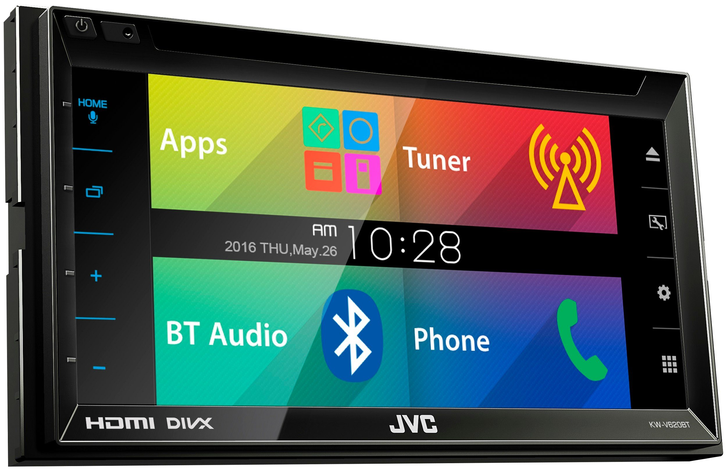 JVC Multimedia-Receiver »KW-V620BTE«