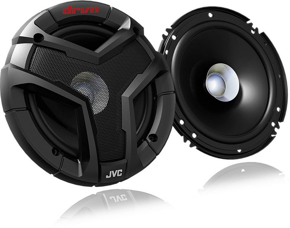 JVC Autolautsprecher »CSV618« in schwarz