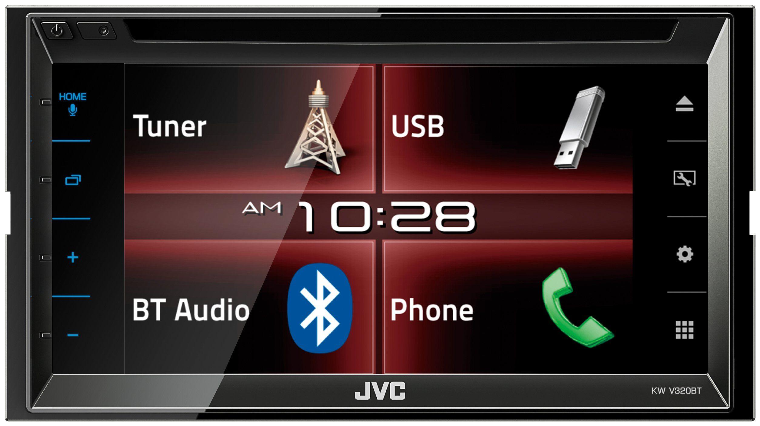 JVC 2-DIN Autoradio »KW-V320BT«