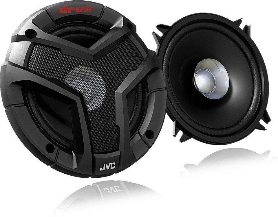 JVC Autolautsprecher »CSV518« in schwarz