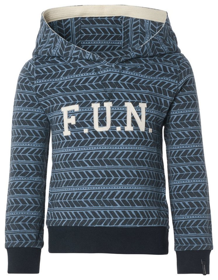 NOPPIES Sweater »Adrian« in Ice Blue