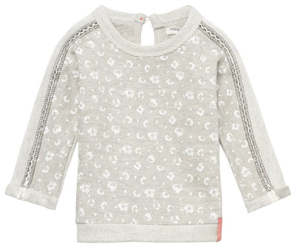 NOPPIES Sweater »Ales« in Grey Melange