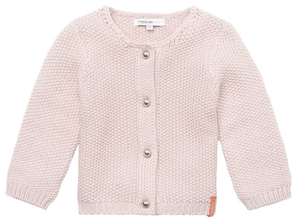 NOPPIES Strickjacke »Amaro« in Blush