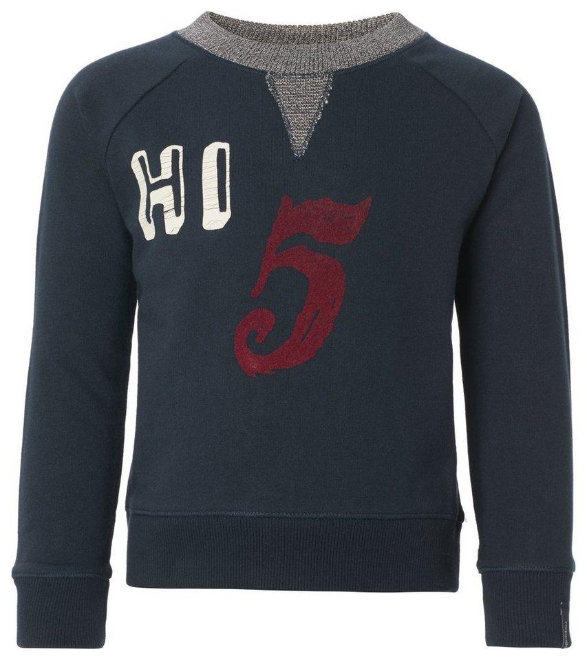 NOPPIES Sweater »Affton« in Dark Blue