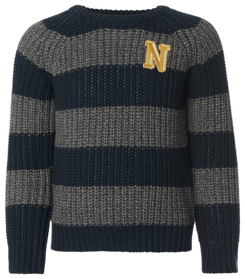 NOPPIES Pullover »Alsip« in Dark Blue
