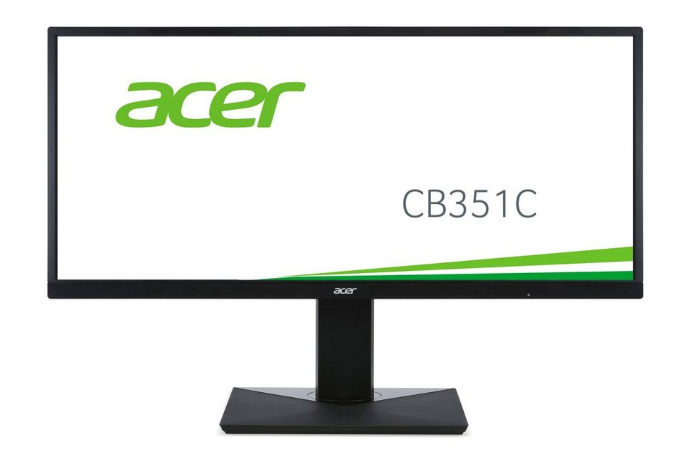 "ACER CB351Cbmidphzx »89 cm (35"") Full HD Display« in schwarz"