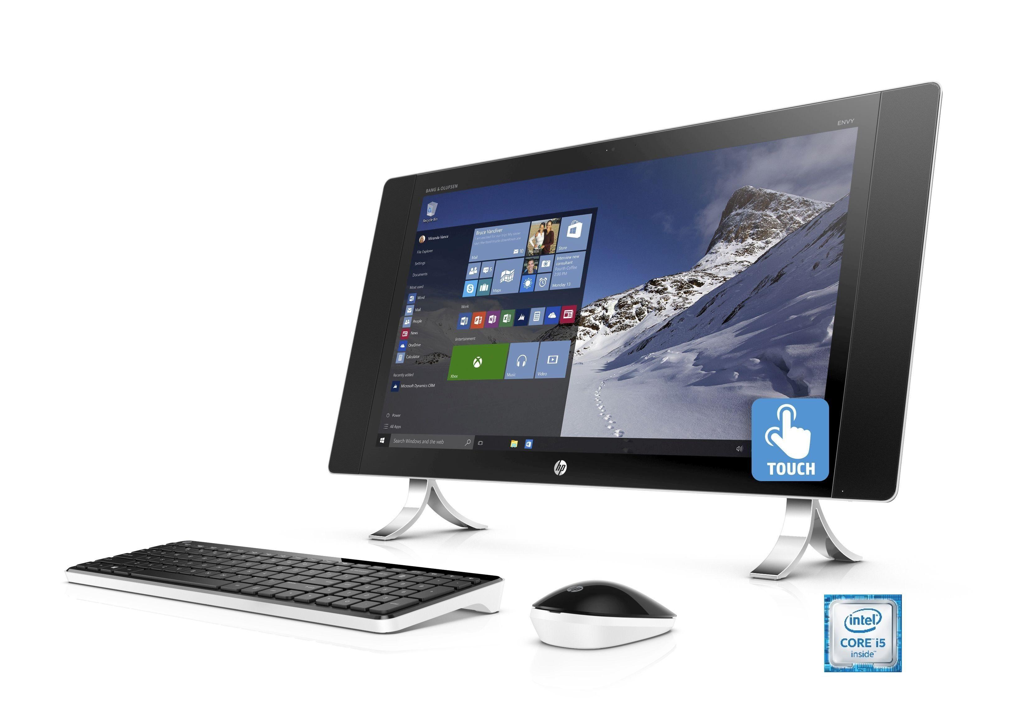 """HP Envy 24-n250ng AIO »Intel Core i5, 60,4cm (23,8""""), 128 GB + 1 TB, 8 GB«"""