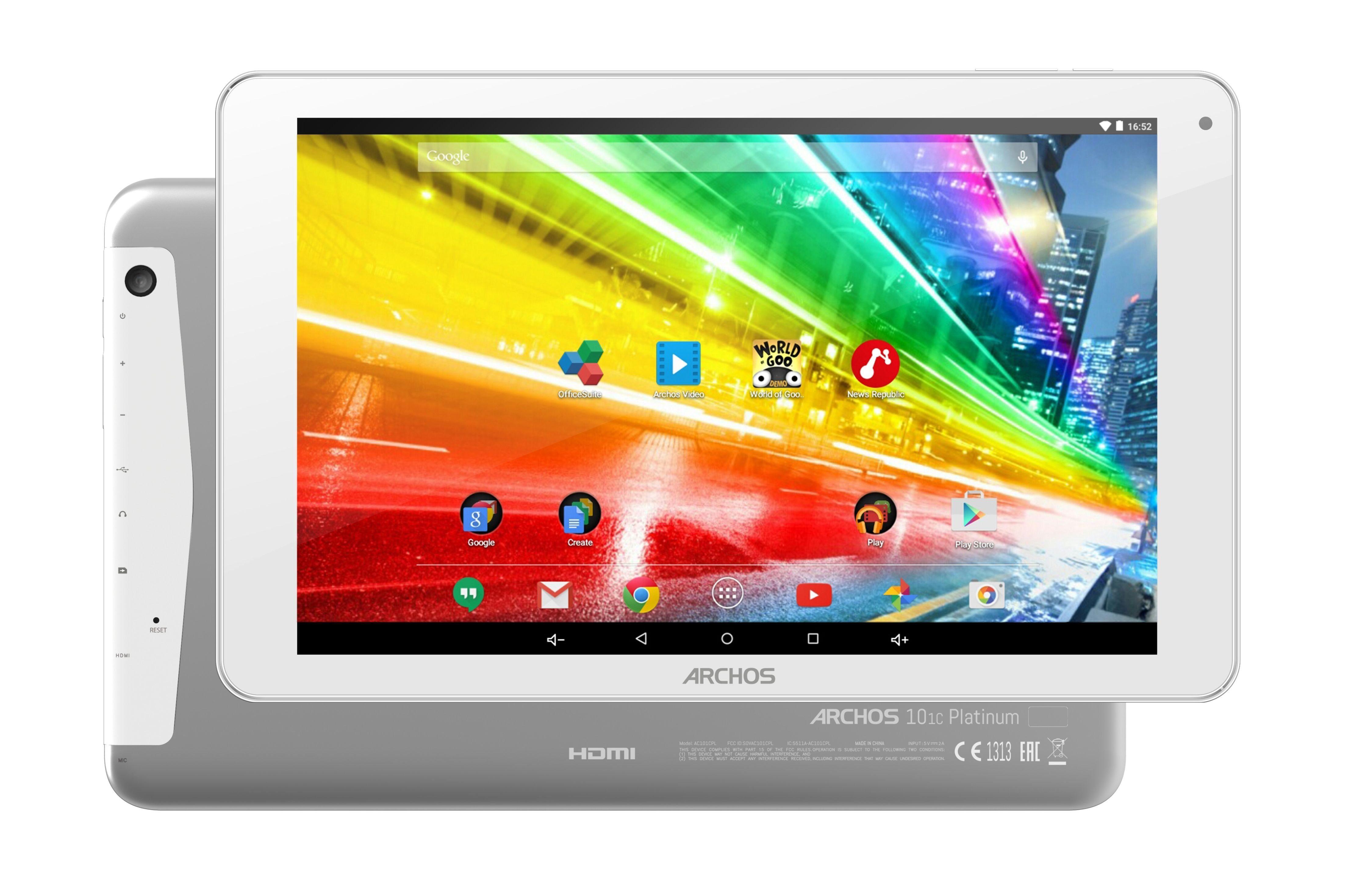 """ARCHOS 101c Platnium Tablet »Mediatek Quad-Core, 25,65cm (10,1""""), 8 GB, 1 GB«"""