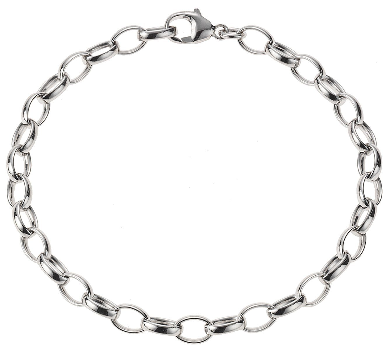 Zeeme Armband »Charms-Armband 925/- Sterling Silber«