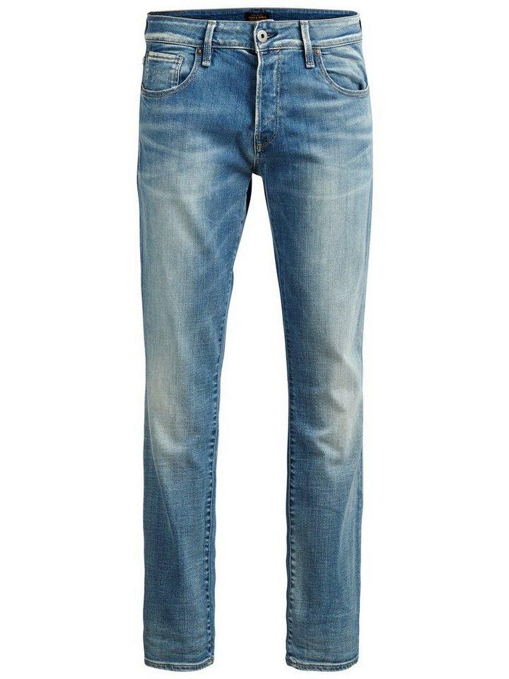 Jack & Jones Clark Icon BL 597 Regular fit Jeans in Blue Denim