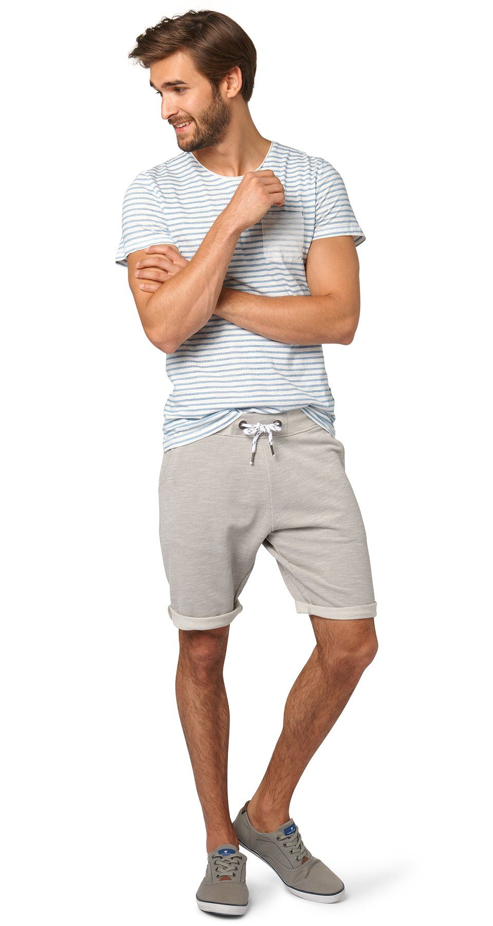 TOM TAILOR Hose »bequeme Sweat-Shorts«