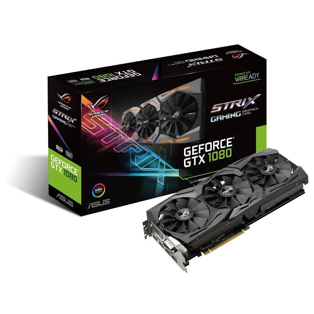 ASUS STRIX-GTX 1080-8G-Gaming, 8GB GDDR5X