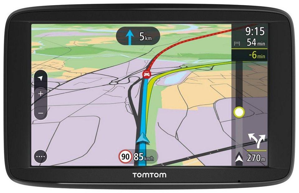 TomTom Navigationsgerät »Via 62 EU« in Schwarz