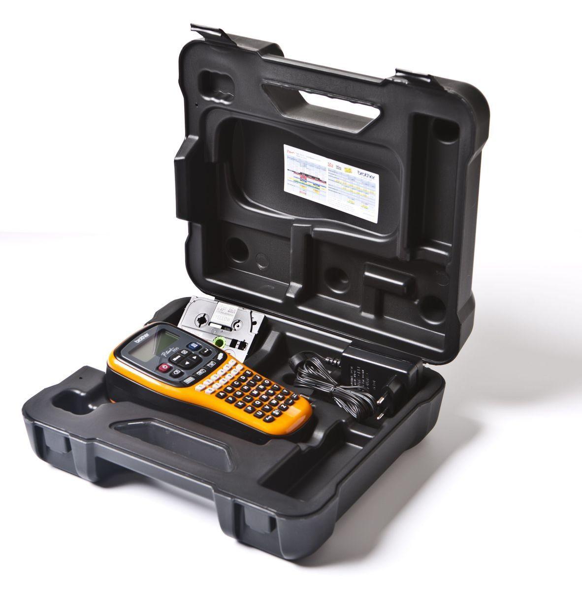 Brother Beschriftungsgerät »P-touch E100VP Handheld Beschriftungsgerät«