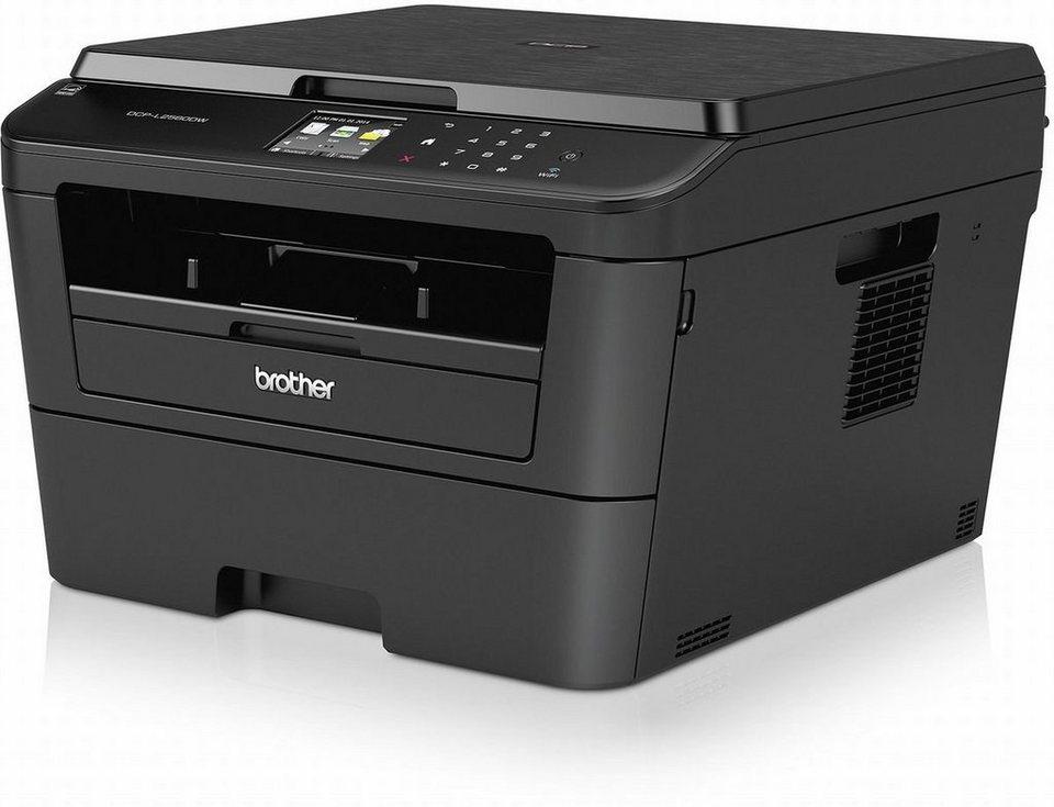 Brother Monolaser-Multifunktionsdrucker »DCP-L2560DW 3in1 Multifunktionsdrucker« in Schwarz