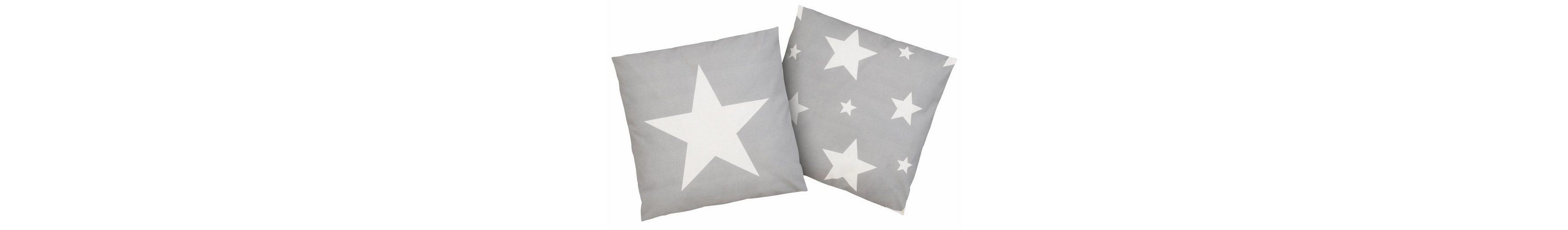 Kissenbezug, Casatex, »Sterne«, mit Sternendruck