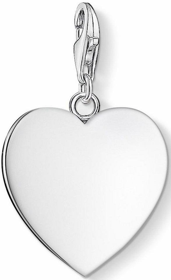 Thomas Sabo Charm-Einhänger »Herz, 0063-001-12« in Silber 925