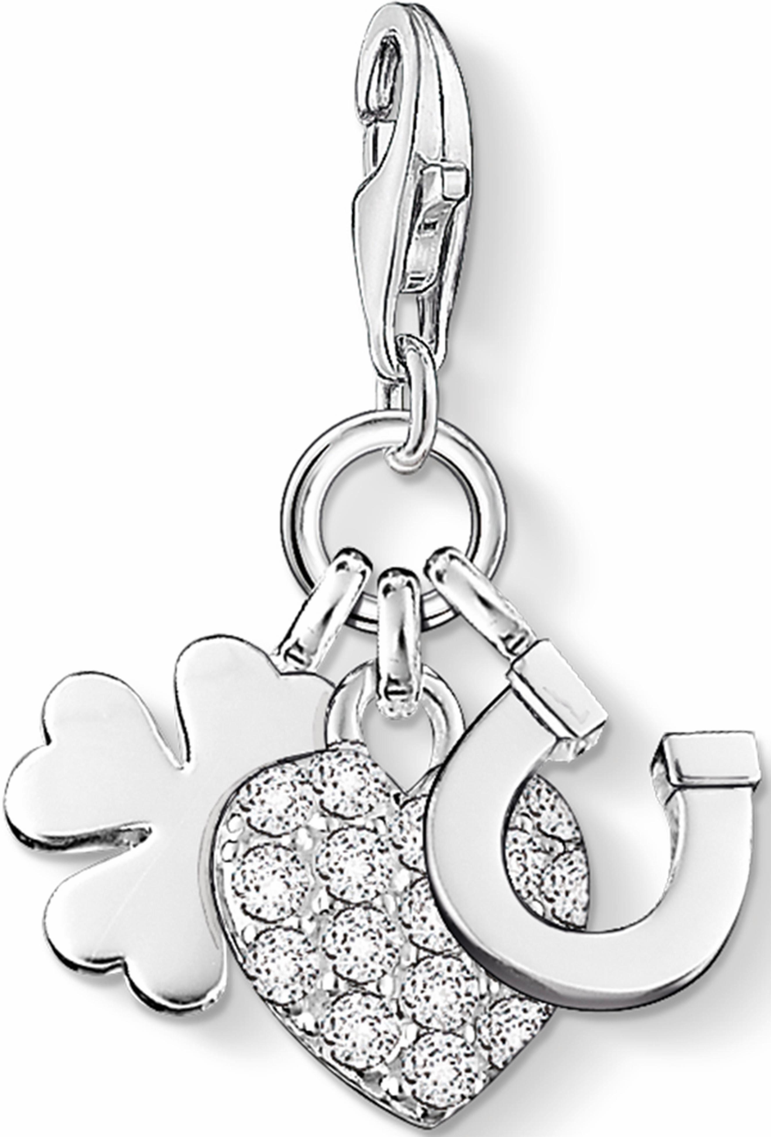 Thomas Sabo Charm-Einhänger »Lucky Charm, 0870-051-14« mit Zirkonia