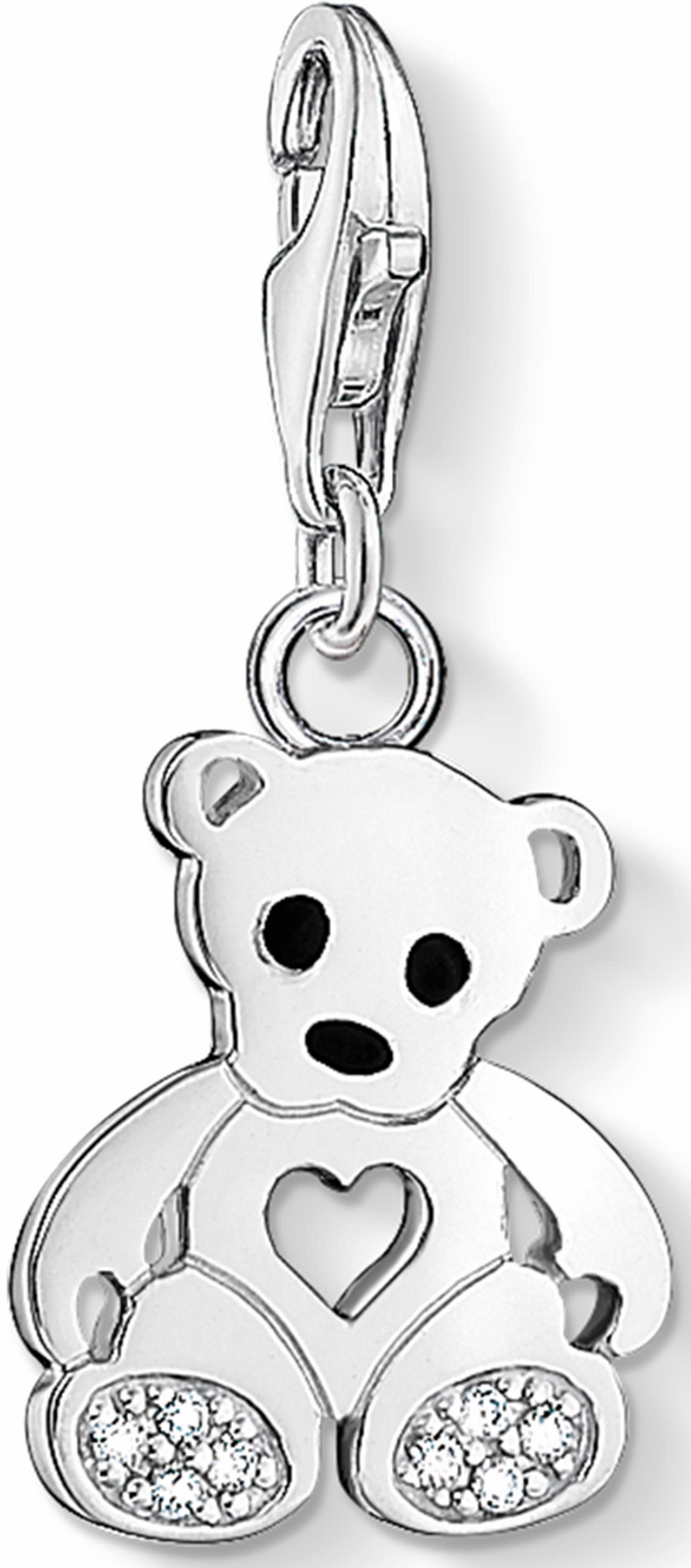 Thomas Sabo Charm-Einhänger »Teddybär, 1119-041-14« mit Zirkonia