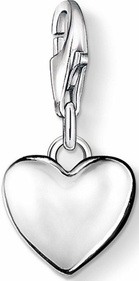 Thomas Sabo Charm-Einhänger »Herz, 0913-001-12« in Silber 925