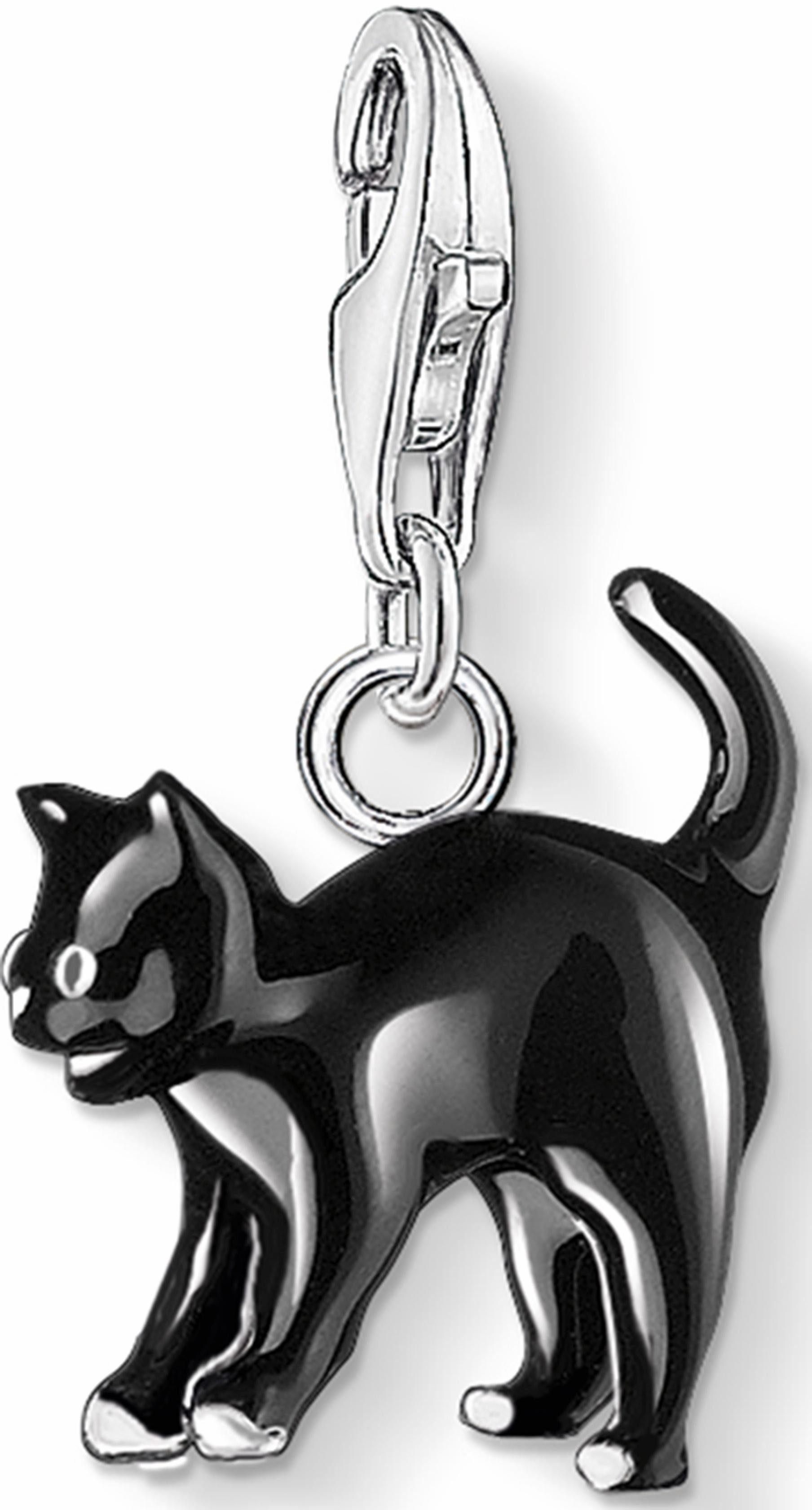 THOMAS SABO Charm-Einhänger »Katze, 0701-007-11«