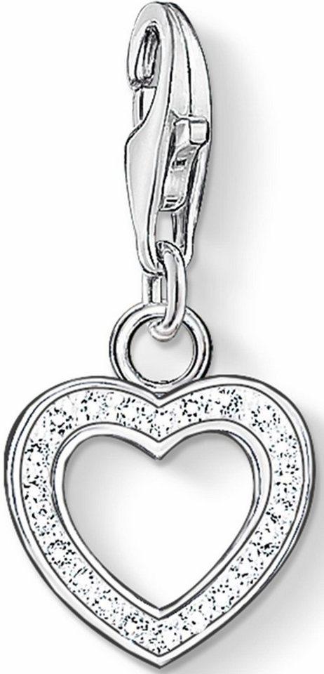 Thomas Sabo Charm-Einhänger »Herz, 0930-051-14« mit Zirkonia in Silber 925