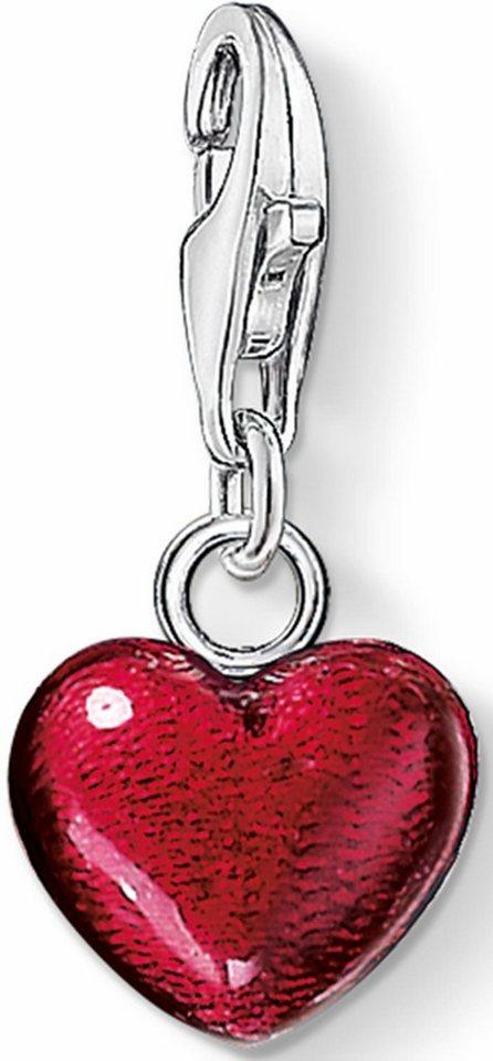 Thomas Sabo Charm-Einhänger »Herz, 0794-007-10« in Silber 925-rot