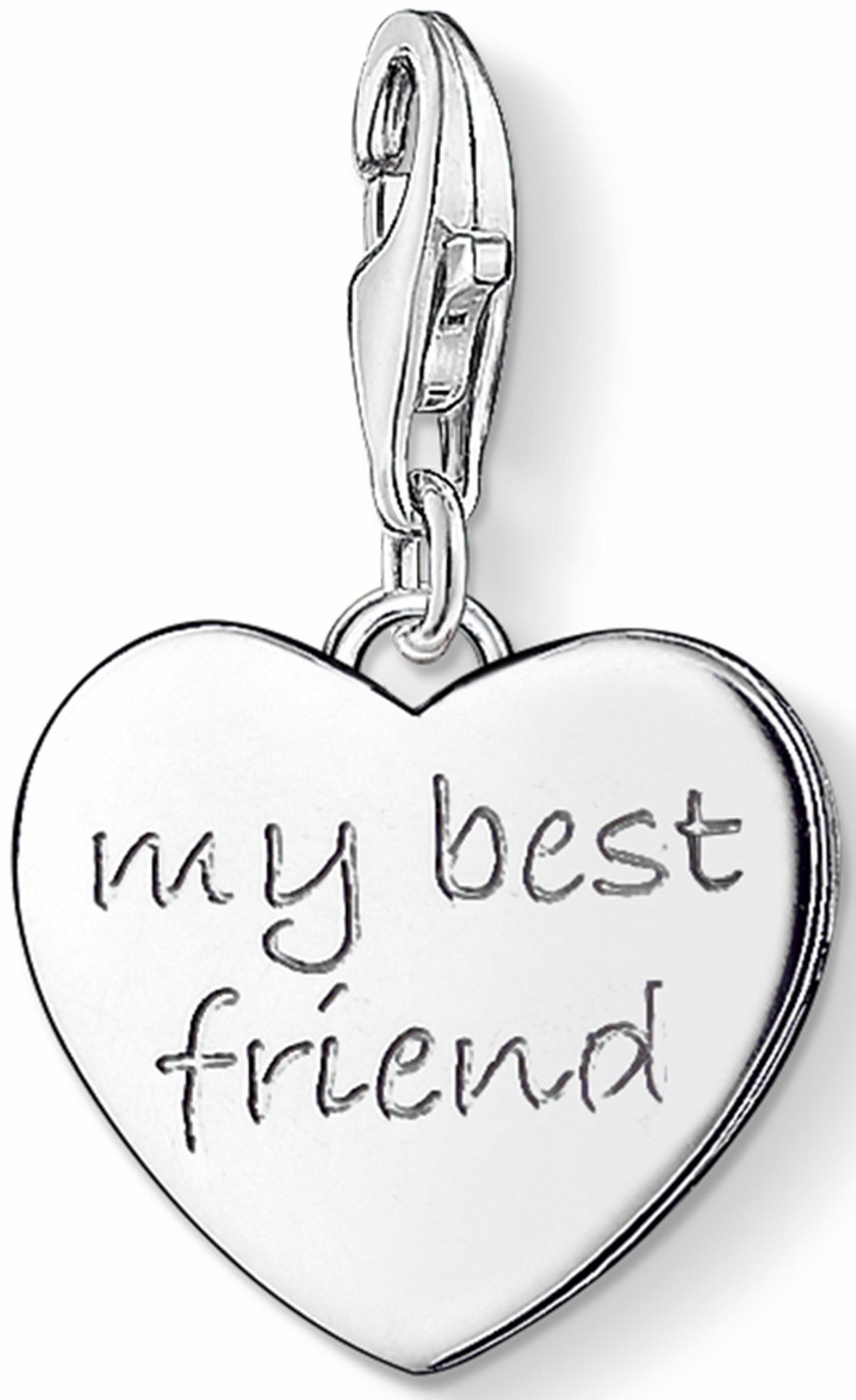 Thomas Sabo Charm-Einhänger »MY BEST FRIEND, 0799-001-12«