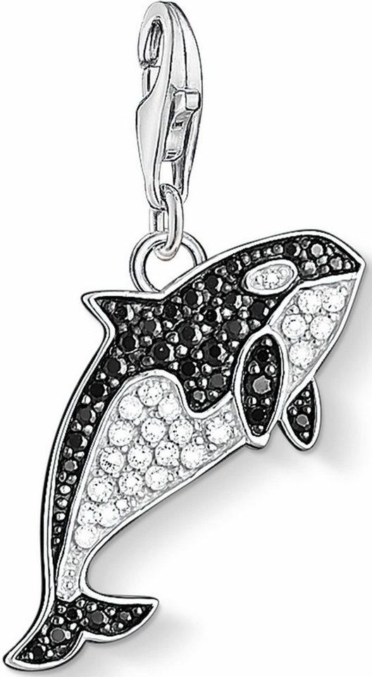 Thomas Sabo Charm-Einhänger »Orca, 1213-643-18« mit Zirkonia in Silber 925