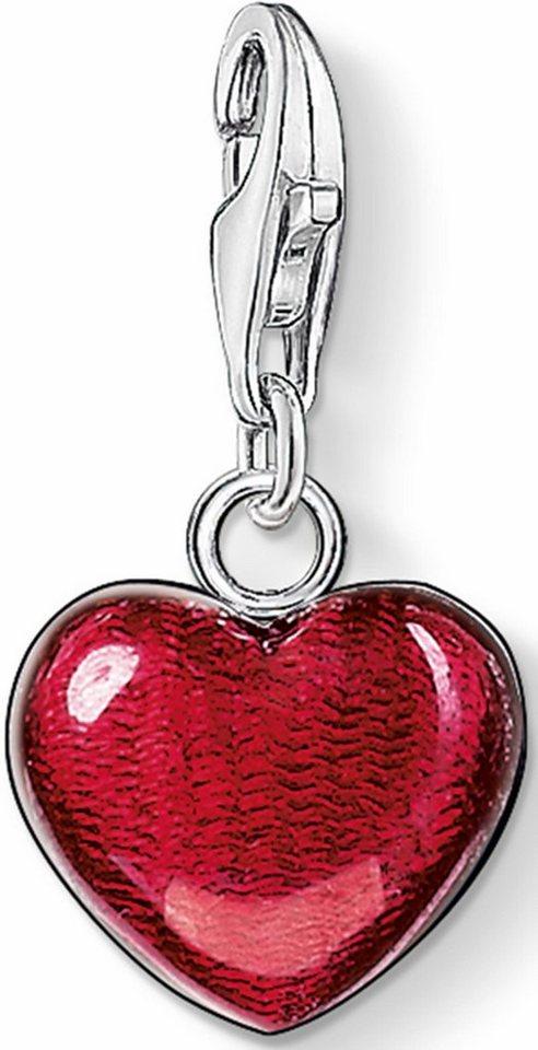 Thomas Sabo Charm-Einhänger »Herz, 0783-007-10« in Silber 925-rot