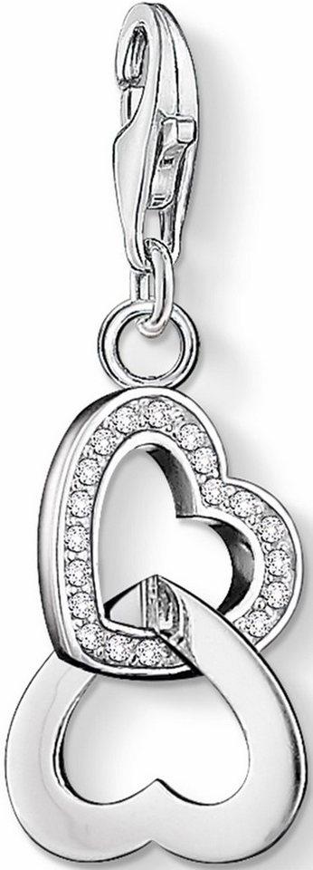 Thomas Sabo Charm-Einhänger »Herz, 0863-051-14« mit Zirkonia in Silber 925