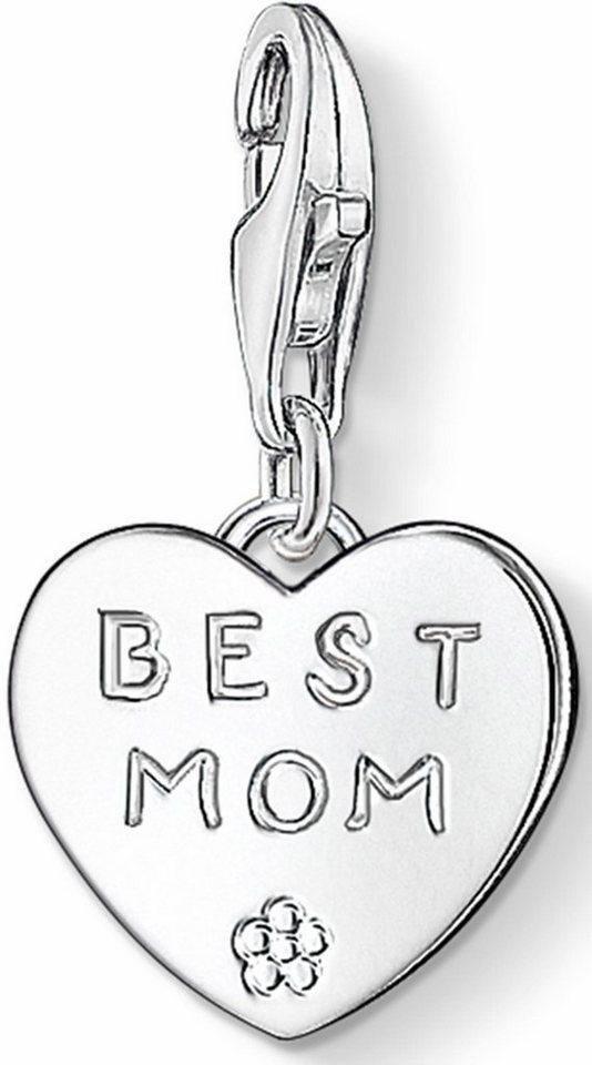 Thomas Sabo Charm-Einhänger »BEST MOM, 0821-001-12« in Silber 925