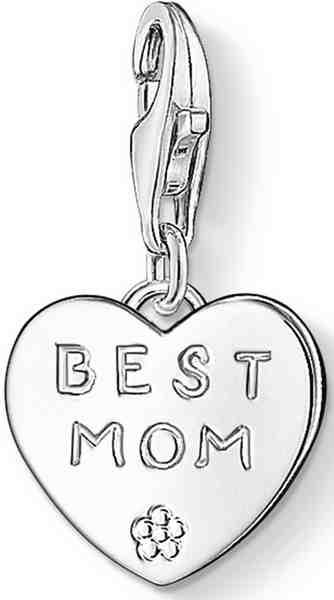 THOMAS SABO Charm-Einhänger »BEST MOM, 0821-001-12«