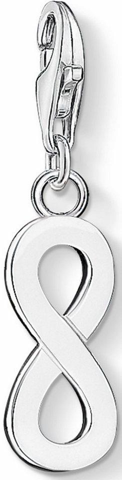 Thomas Sabo Charm-Einhänger »Infinity/Unendlichkeit, Eternity, 1134-001-12« in Silber 925