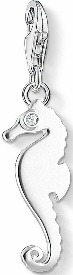 Thomas Sabo Charm-Einhänger »Seepferdchen, 1216-051-14« mit Zirkonia in Silber 925