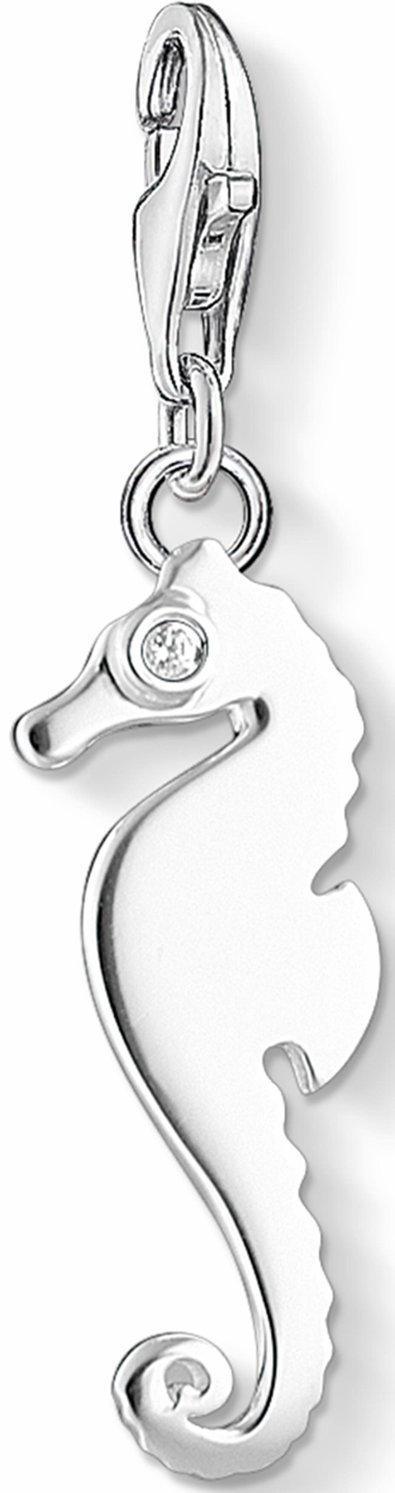 Thomas Sabo Charm-Einhänger »Seepferdchen, 1216-051-14« mit Zirkonia
