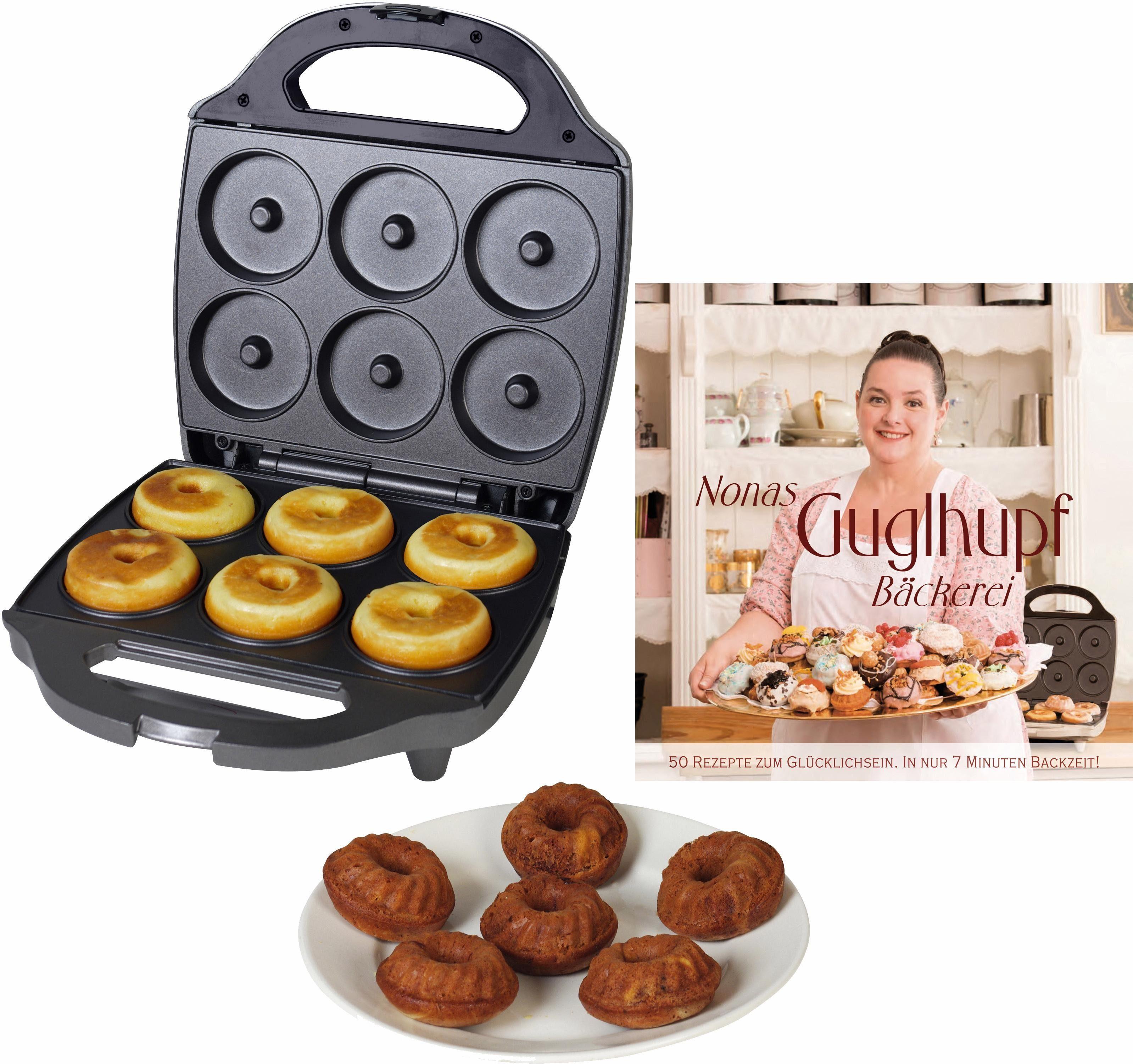 Kalorik Waffeleisen Cupcake Maker TKG CKM 1002 NYC RB, 900 Watt, inkl. Backbuch mit 50 Rezepten