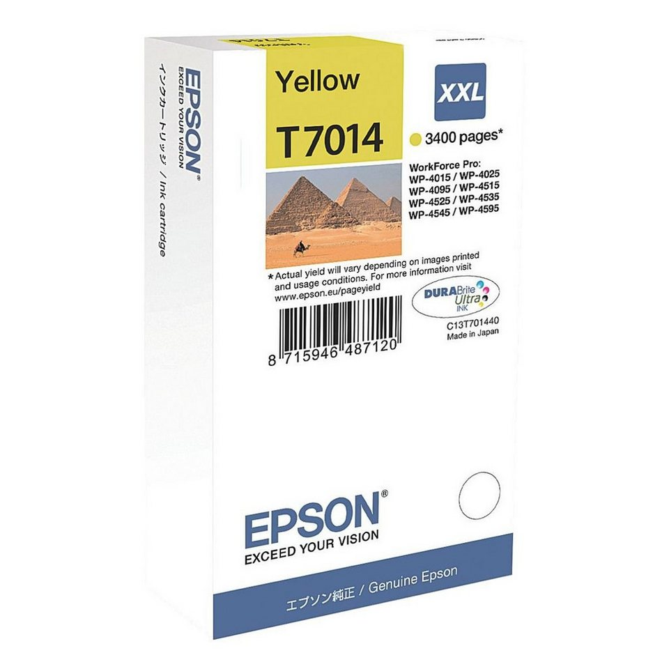 Epson Tintenpatrone »WP4000/4500«