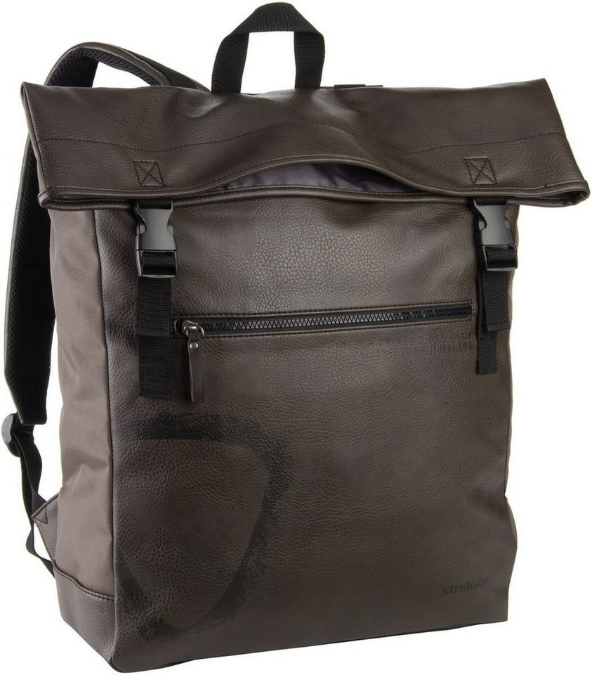 Strellson Paddington Backpack in Mud