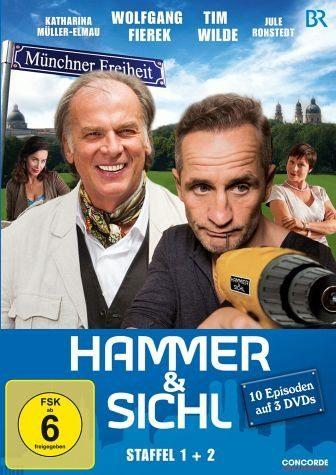 DVD »Hammer & Sichl - Staffel 1+2, 10 Episoden auf...«