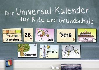 Box »Der Universal-Kalender für Kita und Grundschule«