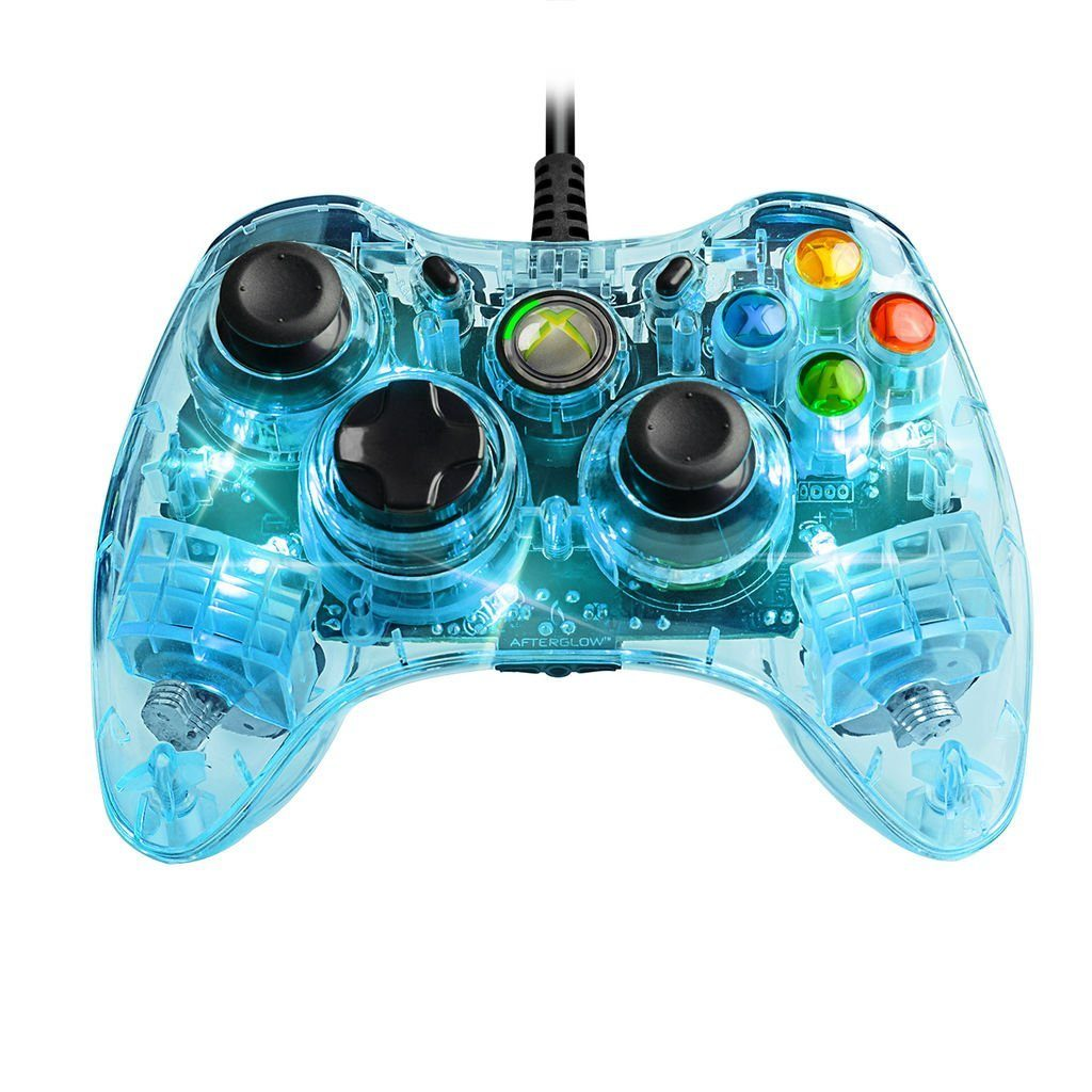 PDP XBOX 360 - Zubehör »Afterglow XBOX360 Controller (Smart Track) - blau«