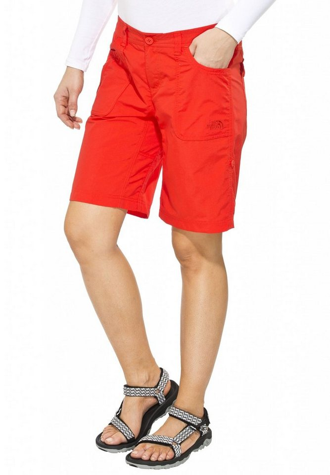 The North Face Hose »Horizon Sunnyside Short Women Regular« in rot