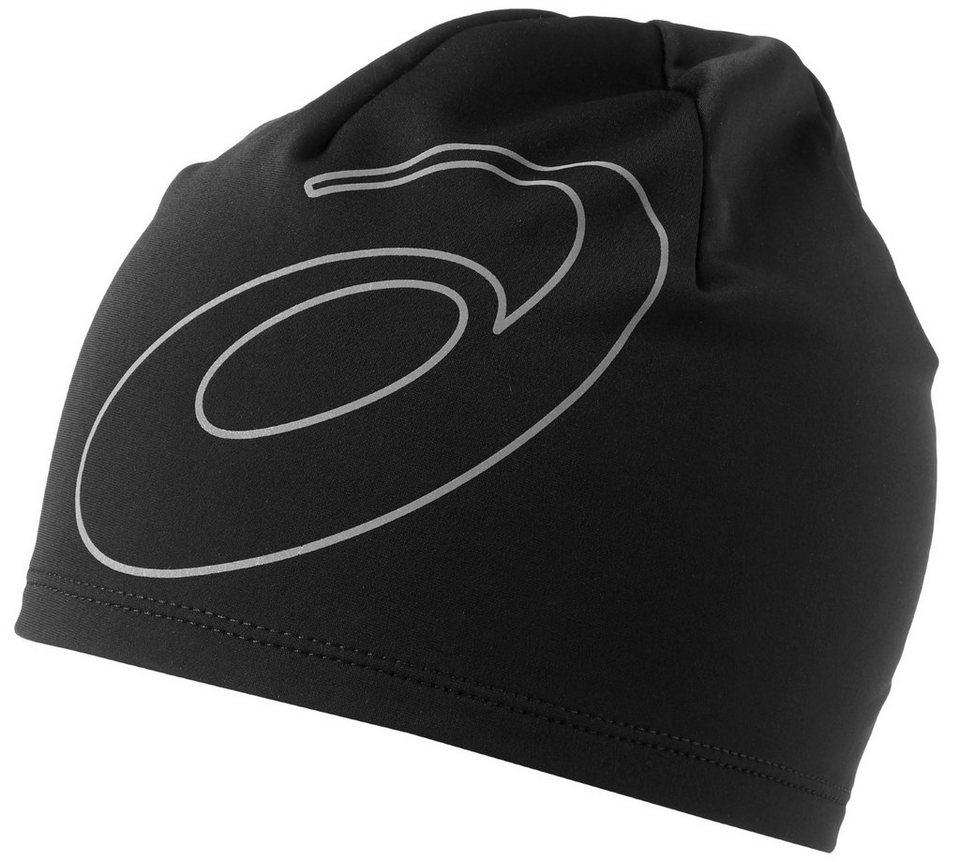 asics Hut »Logo Beanie« in schwarz