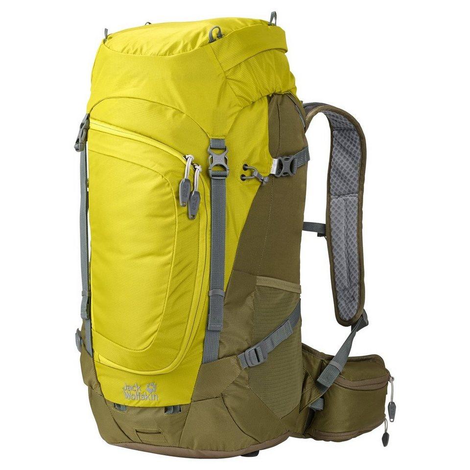 Jack Wolfskin Sport- und Freizeittasche »Crosser 34 Hiking Pack« in oliv