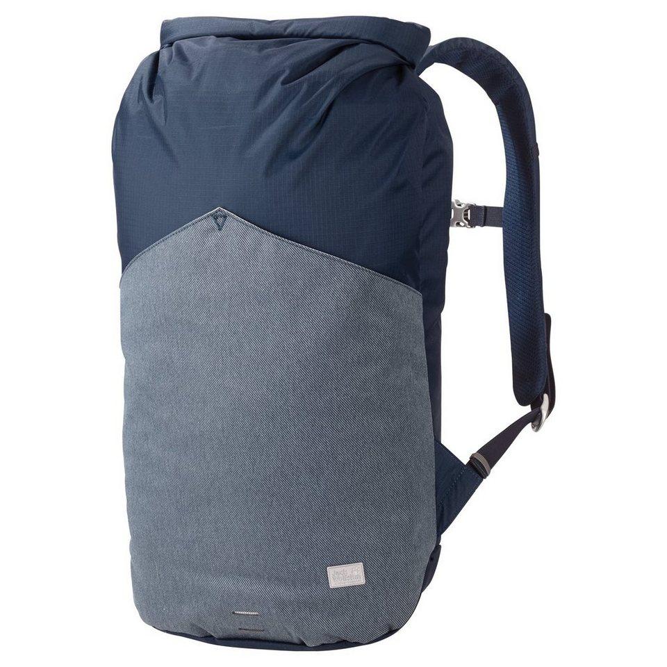 Jack Wolfskin Sport- und Freizeittasche »Wool Tech Daypack« in blau