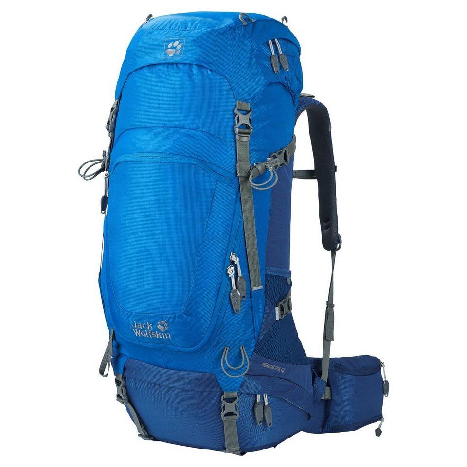 Jack Wolfskin Sport- und Freizeittasche »Highland Trail 48 Hiking Pack« in blau